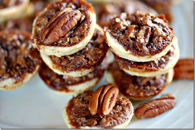 Chocolate Pecan Pie Tarts