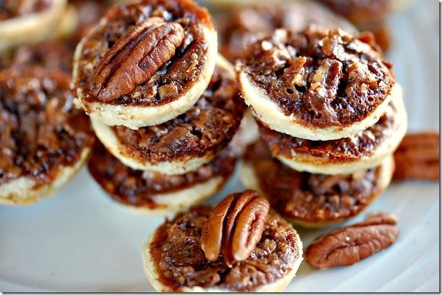 Chocolate Pecan Pie Tarts