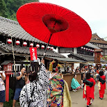 the Geisha parade at Edo Wonderland in Nikko, Totigi (Tochigi) , Japan