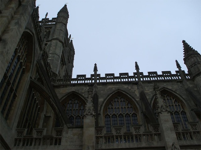 Bath Abbey elevation