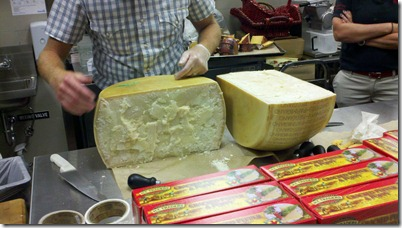 Cheese Parmesan Reggiano Half