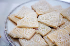 Diamonds and Wedding Cakes- shortbread cookies Sandy designed and iced just for our party