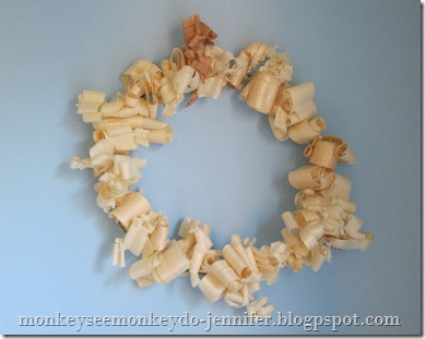 wood shaving wreath (2)
