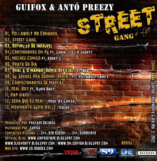Guifox & Antó Preezy - Street Gang (Tráz)