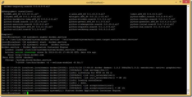 systemctl status docker.service