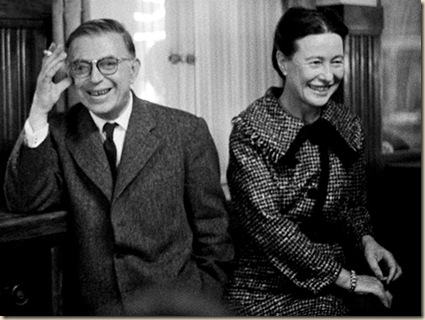 Sartre-y-Simone-de-Beauvoir ateismo muerte