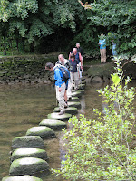 Stepping stones make a good crossing!