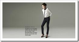 Zara Woman Ankle Indigo Jean