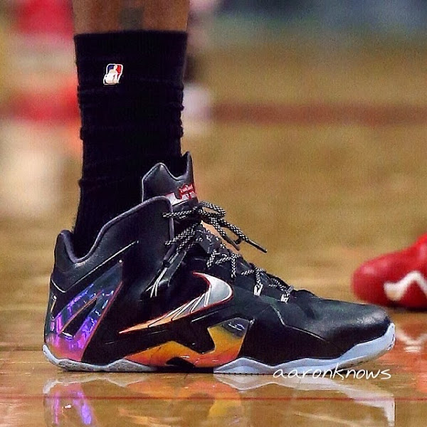 King James Enters Post Season Mode Early with LeBron 11 Elite