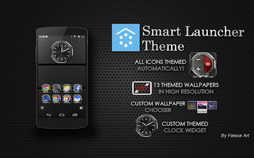 Smart Launcher Theme Precision - screenshot