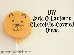 chocolate covered oreos for halloween