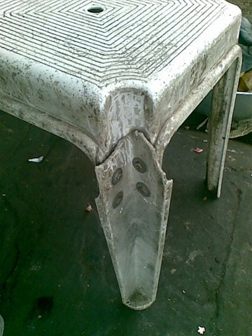 indian jugad plastic chair