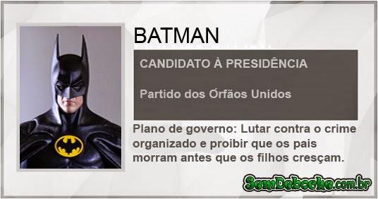 CANDIDATO: BATMAN