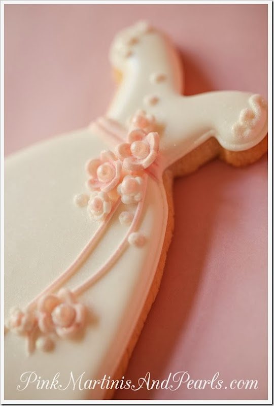 Bridal Shower Wedding Dress Cookie-5922H20