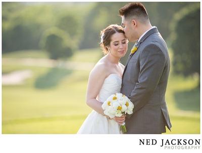 white, yellow and gray wedding