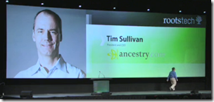 Tim Sullivan Keynote at RootsTech