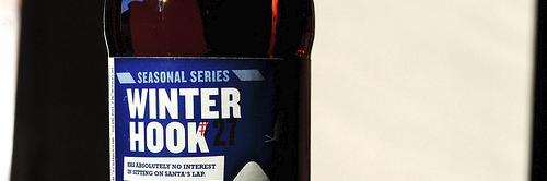 image of Winterhook #27 Winter Ale, courtesy of our Flickr page