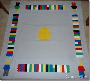 Quiet Play Lego mat