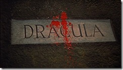 Horror of Dracula Blood on Name