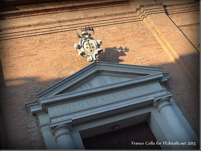 Chiesa di San Girolamo - Church of St. Jerome, Ferrara. Italy, Photo2