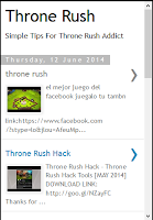 Screenshot of Throne Rush Tips