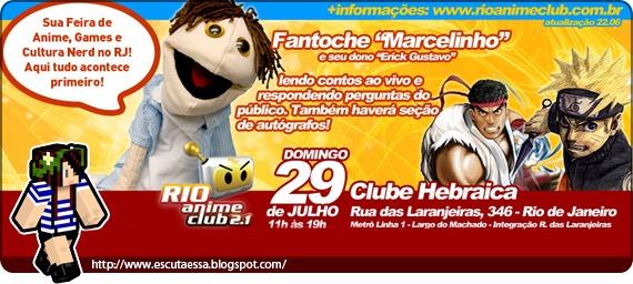 Evento Rio AnimeClub