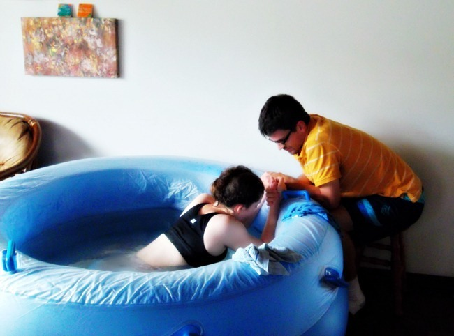 water homebirth