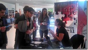 Integrantes de Inclusión Juvenil participaron de la Expo Educativa en la Universidad Nacional de Mar del Plata
