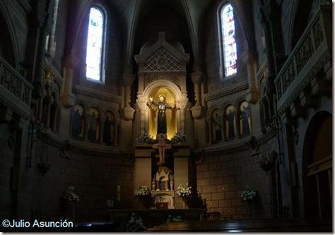 Presbiterio de la Basílica de San Francisco Javier