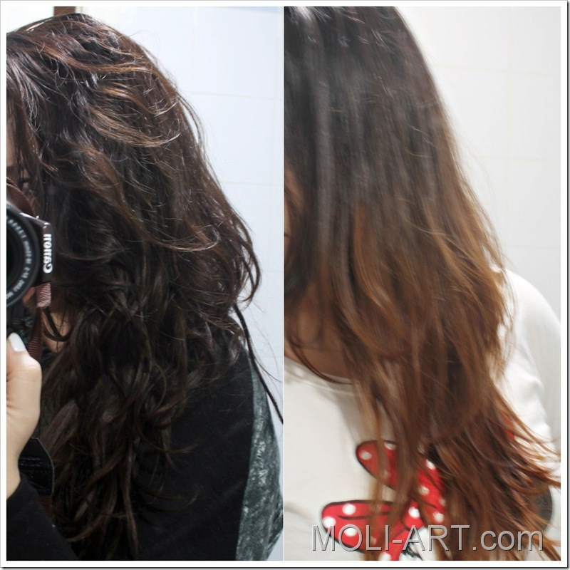 Mechas californianas de l or al moli art beauty blog - Como hacer mechas californianas en casa ...