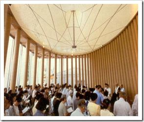 IGREJA DE PAPEL - Kobe, Japão, 1995-2005 -interior