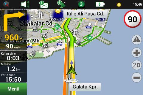Navitel Navigator v9.1.0.0 Türkçe Full (Android)