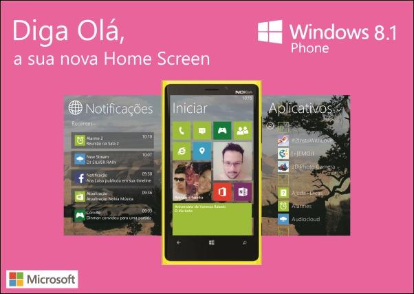 Minha visão da Nova Versão do Windows Phone 8.1 baseado nos vazamentos do Windows 8.1