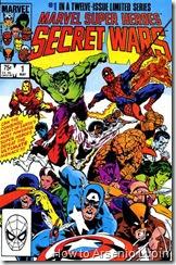 Secret wars #01 al #12, la batalla entre los mas grandes de marvel por sus deseos comienza para complacer al Eterno, las consecuencias de esta saga de lujo para spidey.