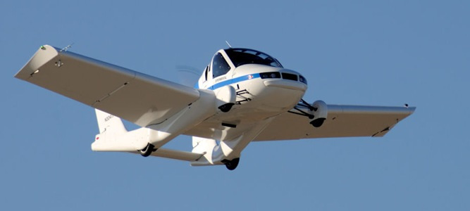 Mobil Terbang, Terbang Betulan