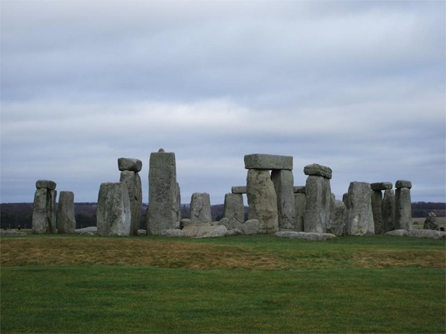 Stonehenge - the south western face