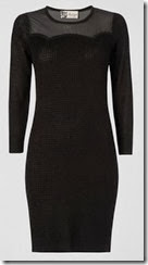 Jaeger Sheer Panel Sweater Dress