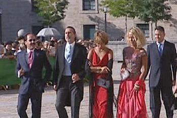 Invitados boda Aznar-Agag 2
