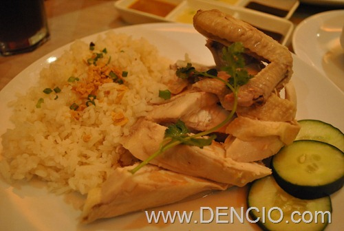 Kenny Roger's Hainanese Chicken1