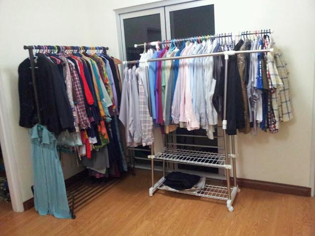 Berangan Walk-in Wardrobe