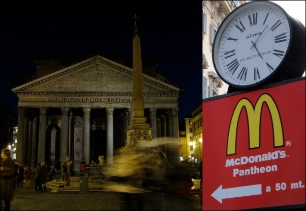 McDonalds at Pantheon