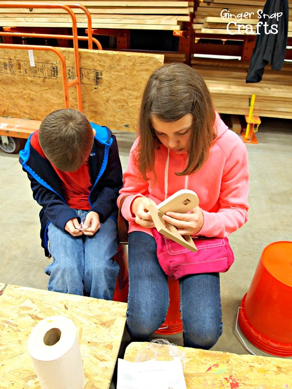 #digin kids at The Home Depot