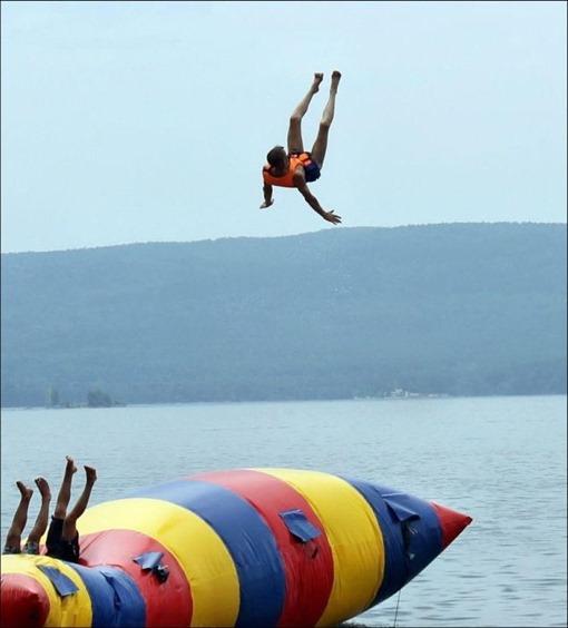 Иногда хочется стать птицей и взлететь высоко-высоко...