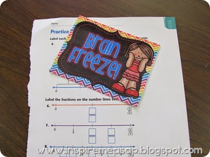 brain freeze passes for students with ADD