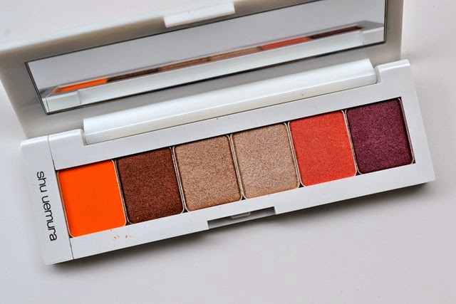shu uemura Brave Beauty Orange Palette (2)