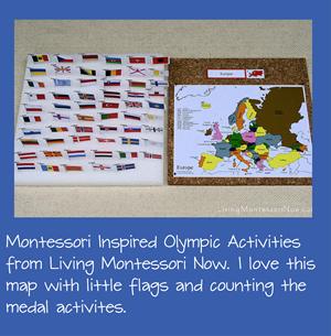 Montessori Olympic Activities for Kids