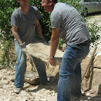 Rebulding in Beit Jala and &#039;Anata - May 2012