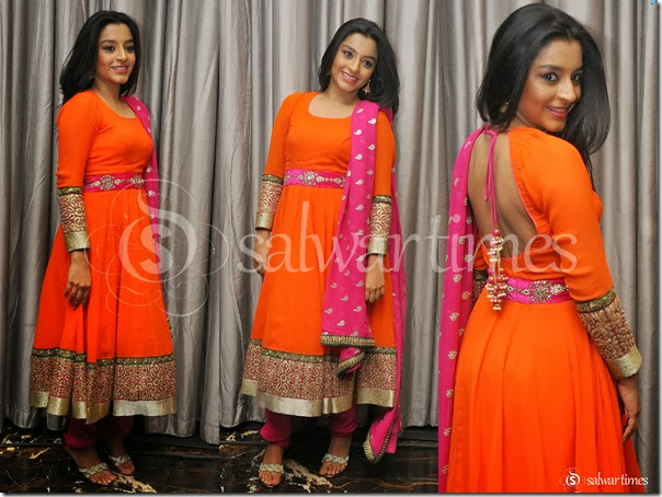 Alisha_Orange_Salwar_Kameez