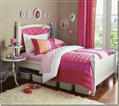 decoración de dormitorios juveniles femeninos7