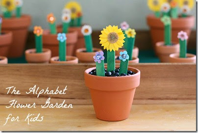 Learn Your ABCs with Alphabet Flower Garden from Buggy and Buddy